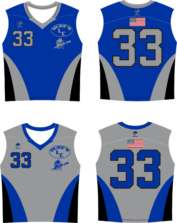 Wave One Sports Sublimated Sleeveless Reversible Jersey