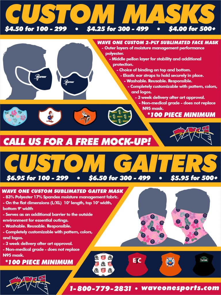 Mask and Gaiter Flyer